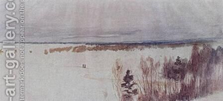 Winter by Isaak Ilyich Levitan - Reproduction Oil Painting