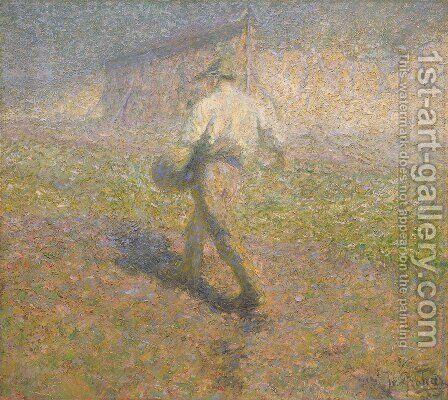 The Sower by Ivan Grohar - Reproduction Oil Painting