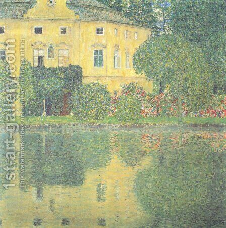Schloss Kammer on the Attersee IV by Gustav Klimt - Reproduction Oil Painting