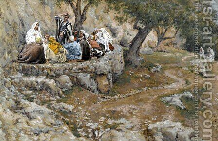 The Primacy of Saint Peter by James Jacques Joseph Tissot - Reproduction Oil Painting