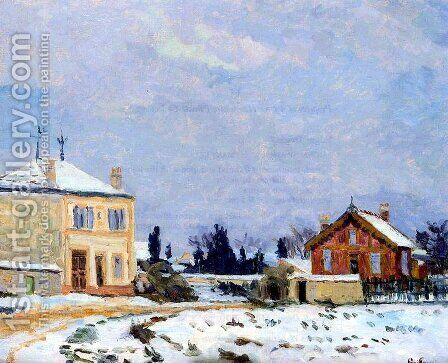 Neige by Armand Guillaumin - Reproduction Oil Painting