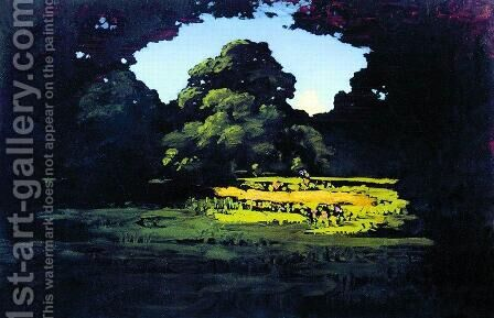 Grove by Arkhip Ivanovich Kuindzhi - Reproduction Oil Painting