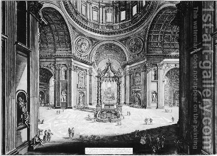 Vedute di Roma 73 by Giovanni Battista Piranesi - Reproduction Oil Painting