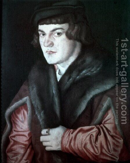 Self-Portrait 3 by Hans Baldung  Grien - Reproduction Oil Painting