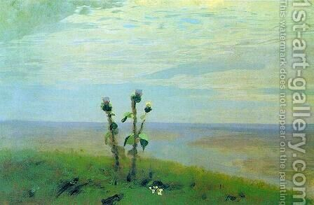 Dnieper 2 by Arkhip Ivanovich Kuindzhi - Reproduction Oil Painting
