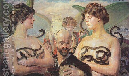 Unknown 9 by Jacek Malczewski - Reproduction Oil Painting