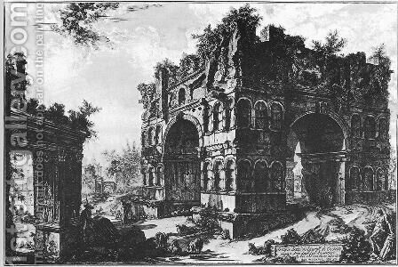 Vedute di Roma 75 by Giovanni Battista Piranesi - Reproduction Oil Painting
