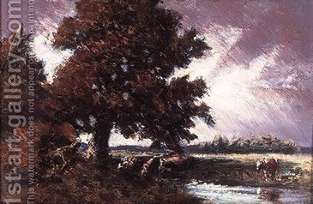 Study for Red Oak by Homer Watson - Reproduction Oil Painting