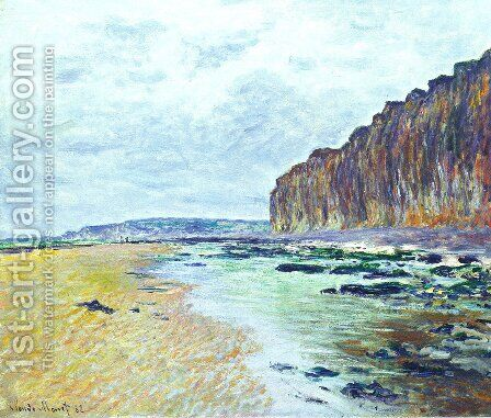Low Tide at Varengeville 02 by Claude Oscar Monet - Reproduction Oil Painting