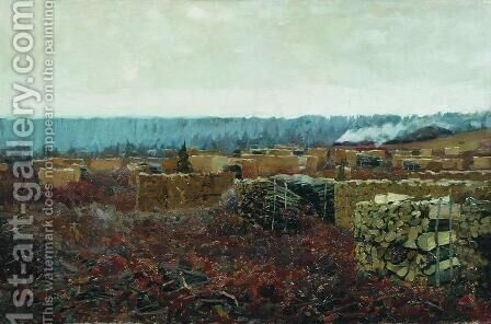 Felling by Isaak Ilyich Levitan - Reproduction Oil Painting
