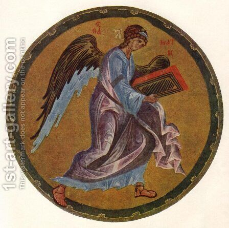 The Angel of Matthew by Andrei Rublev - Reproduction Oil Painting