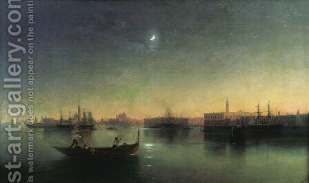 Venice 4 by Ivan Konstantinovich Aivazovsky - Reproduction Oil Painting