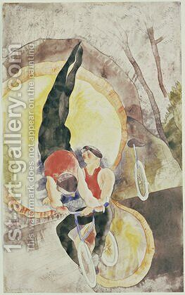 Acrobats by Charles Demuth - Reproduction Oil Painting