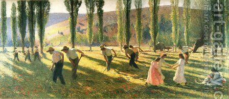 Summer by Henri Martin - Reproduction Oil Painting