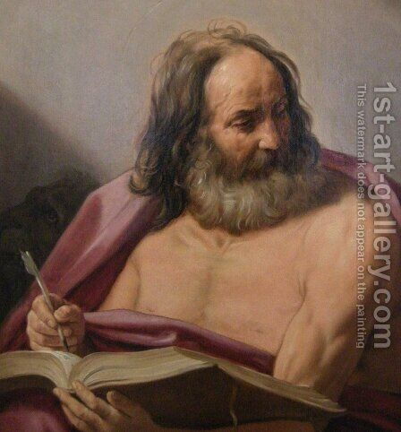 Saint Mark by Guido Reni - Reproduction Oil Painting
