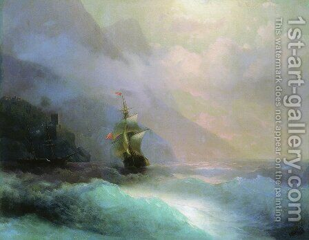 Seascape 8 by Ivan Konstantinovich Aivazovsky - Reproduction Oil Painting
