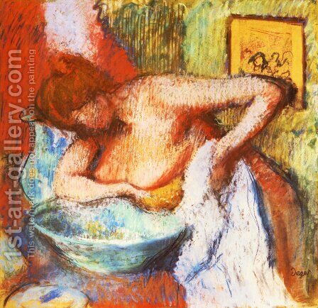 The Toilette by Edgar Degas - Reproduction Oil Painting