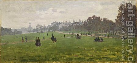 Green Park in London by Claude Oscar Monet - Reproduction Oil Painting