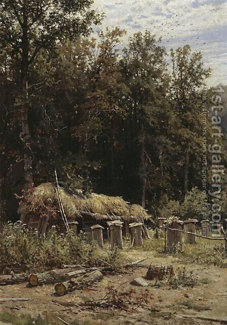 Bee families 3 by Ivan Shishkin - Reproduction Oil Painting