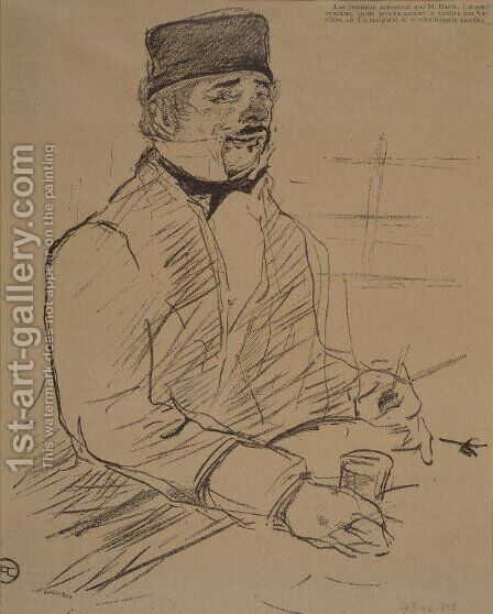 Baron by Toulouse-Lautrec - Reproduction Oil Painting
