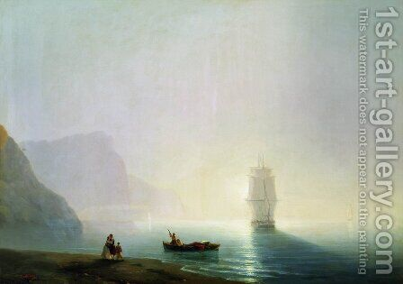 Morning by Ivan Konstantinovich Aivazovsky - Reproduction Oil Painting
