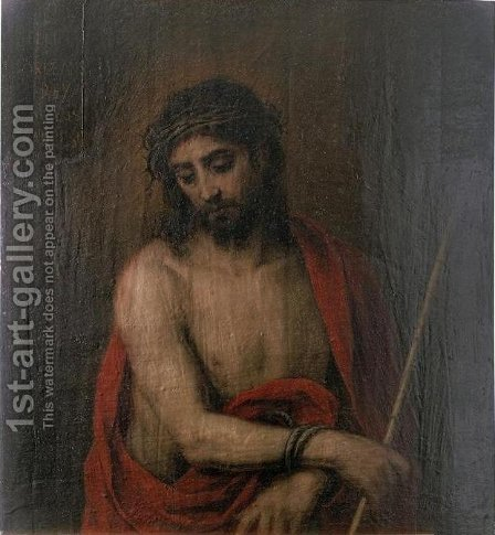 Ecce Homo 2 by Bartolome Esteban Murillo - Reproduction Oil Painting