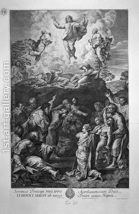 The Transfiguration, by Raphael by Giovanni Battista Piranesi - Reproduction Oil Painting