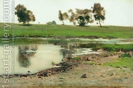 Landscape 5 by Isaak Ilyich Levitan - Reproduction Oil Painting