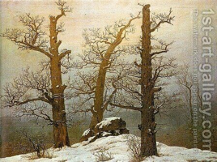 Winter Light by Caspar David Friedrich - Reproduction Oil Painting