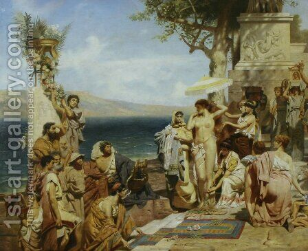 Roma by Henryk Hector Siemiradzki - Reproduction Oil Painting