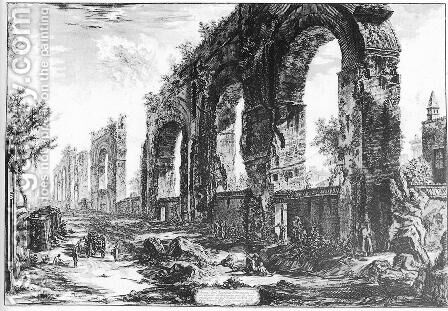 Vedute di Roma 87 by Giovanni Battista Piranesi - Reproduction Oil Painting