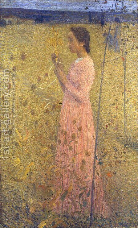 Harmonie by Henri Martin - Reproduction Oil Painting