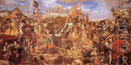 Sobieski II by Jan Matejko - Reproduction Oil Painting