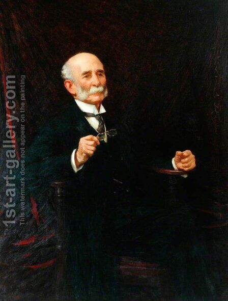 John Maddocks by Henry Herbert La Thangue - Reproduction Oil Painting