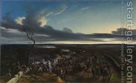 The Battle of Montmirail by Horace Vernet - Reproduction Oil Painting