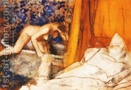The Bath 2 by Edgar Degas - Reproduction Oil Painting