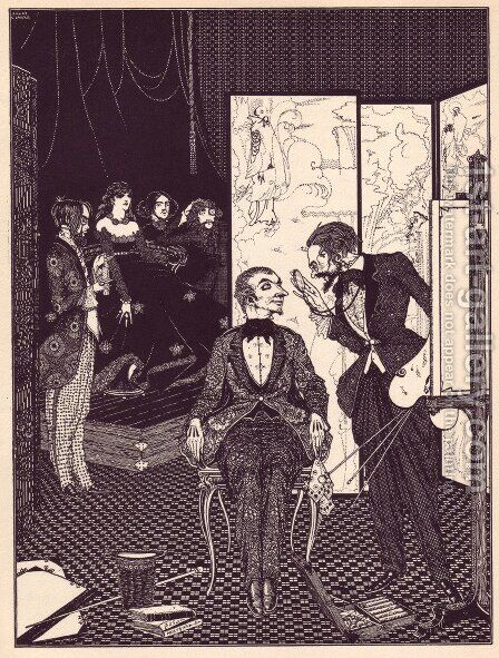 Tales of Mystery and Imagination by Edgar Allan Poe 18 by Harry Clarke - Reproduction Oil Painting