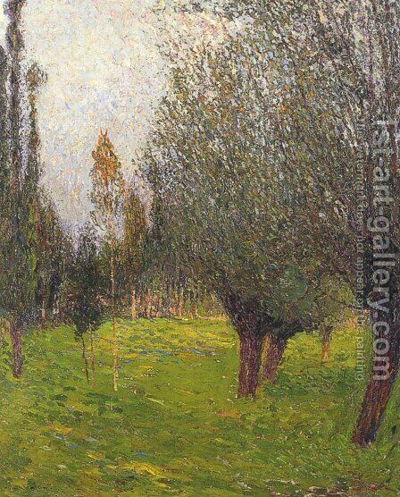 Landscape 2 by Henri Martin - Reproduction Oil Painting