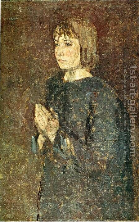 not identified 2 by Gwen John - Reproduction Oil Painting
