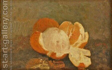 Peeled Orange by Ion Andreescu - Reproduction Oil Painting