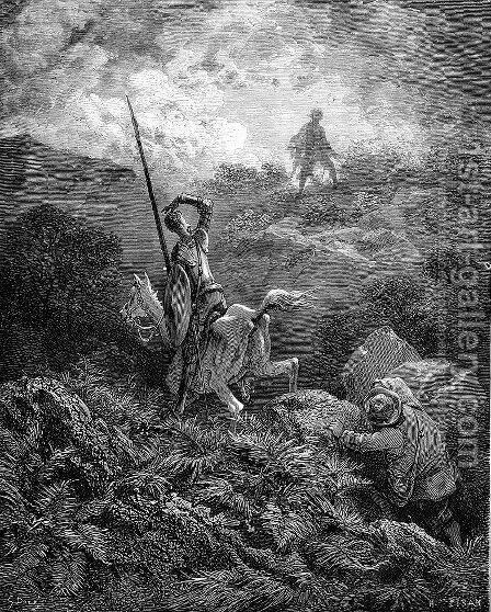Don Quixote 80 by Gustave Dore - Reproduction Oil Painting