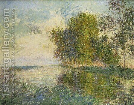 The Normandy River by Gustave Loiseau - Reproduction Oil Painting