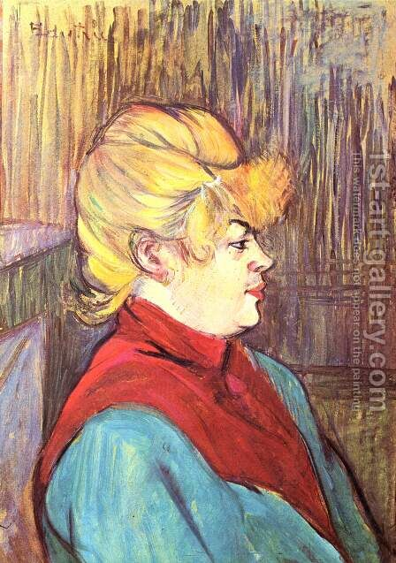 Woman brothel by Toulouse-Lautrec - Reproduction Oil Painting