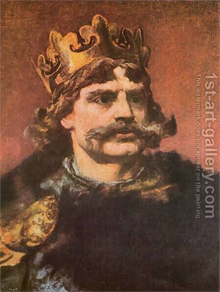 Boleslaw the Brave by Jan Matejko - Reproduction Oil Painting
