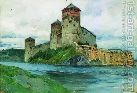 Fortress. Finland. by Isaak Ilyich Levitan - Reproduction Oil Painting