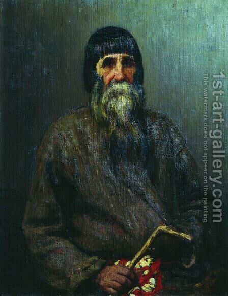 Portrait of a Peasant 2 by Ilya Efimovich Efimovich Repin - Reproduction Oil Painting