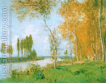 The Spring in Argentuil by Claude Oscar Monet - Reproduction Oil Painting