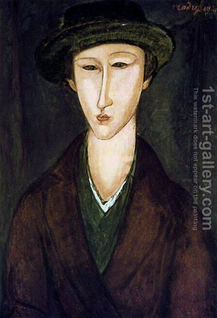 Portrait of Marevna by Amedeo Modigliani - Reproduction Oil Painting