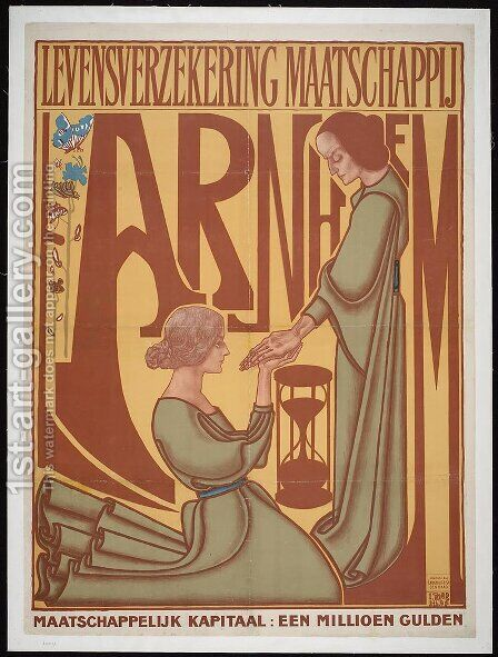 Arnhem Life Insurance Company by Jan Toorop - Reproduction Oil Painting
