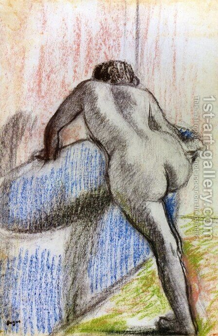 The Bath 3 by Edgar Degas - Reproduction Oil Painting